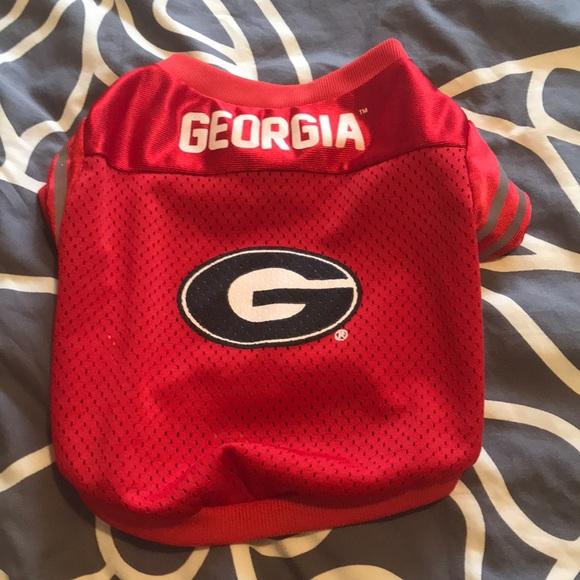 big sale 045e5 21608 Georgia Bulldogs Dog Jersey 🐕